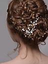 Femme Perle Casque-Mariage / Occasion speciale Pique cheveux / Epingle a Cheveux / Stick Cheveux 1 Piece