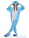 Kigurumi Pyjamas nya Cosplay® / Koala Leotard/Onesie Halloween Animal Sovplagg Blå Lappverk Polar Fleece Kigurumi UnisexHalloween / Jul /