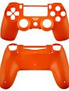 cas pour le controleur PS4 (orange / violet / rose / transparent)