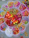 perles de bricolage de grande prune transparentes cristal enfants a tricoter jouets acrylique couleur perles perles educatif