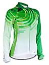 Nuckily Maillot de Cyclisme Femme Manches Longues Velo Maillot Hauts/Tops Pare-vent Design Anatomique Resistant aux ultraviolets
