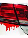 14 * 5cm reflekterande blödning personlighet bil klistermärken (1st)