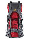 60L L Backpacker-ryggsäckar Camping / Fiske / Klättring / Jakt / Resa / Nödsituation / Cykling UtomhusVattentät / Snabb tork / Inbyggd