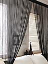 Un Panneau Le traitement de fenetre Rustique Salle de sejour Polyester Materiel Rideaux Tentures Decoration d\'interieur For Fenetre