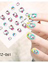 Tecknat / Vackert-Finger / Tå-Nagelsmycken- avAndra-1pcs- styck6.5*5.5cm- cm