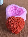 Moule de Cuisson Fleur Pour Gateau For Chocolate Pour Tarte Caoutchouc de silicone 3D Anniversaire Haute qualite