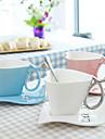 180ml kreativa hjärta och skiv muggar kaffe kopp kopp mjölk kopp valentin gåva cup med bas 1st