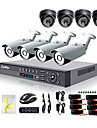 Liview® 900TVL Outdoor Day/Night Security Camera and 8CH HDMI 960H Network DVR System