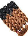 #30 Box Braids Jättelik Hårförlängningar 24inch Kanekalon 3 Strå 80-100g/pcs gram Hair Braids