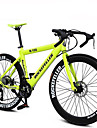 21 Speeds Rockefeller ™ Cycling 700C Double Disc Brake  Rode Bike 70 Spokes Flat Tire
