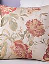 1 st Polyester Örngott,Blom Traditionell