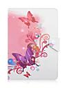universell 10 tums tablet pc utformning av färgade ritning eller mönster läderfodral magnetiska smarta fall anti-damm