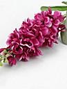 branche soie / delphiniums plastique table fleur fleurs artificielles (5 pieces)