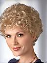dana syntetiska peruker blond färg lockigt stil syntetiska peruker