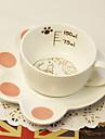 vackra rosa katt kaffemuggar kopp