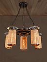 40W Hängande lampor ,  Rustik Rektangulär Särdrag for Ministil MetallLiving Room / Bedroom / Dining Room / Sovrum / Matsalsrum /