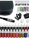 tatouage Solong kit de maquillage permanent stylo de tatouage machine a levre de sourcil definie 23 encres de maquillage ek706-2