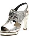 aokang® kvinnors läder sandaler - 342818030