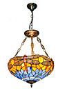 Max 60W Lampe suspendue ,  Tiffany Autres Fonctionnalite for Style mini MetalSalle de sejour / Chambre a coucher / Salle a manger /
