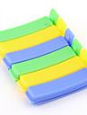 6st godis färg färska livsmedel tätning klipp familj viktigt hålla innovationsköksredskap