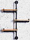 Hyllor / Hyllförvaring Metall / Trä medSärdrag är Öppna , För Slips