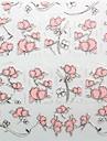 blomma varm lättnad rosa spik smycke