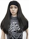 3/4 perruques perruque moitie avec bandeau de longues droites blondes synthetique perruque de cheveux beaucoup de couleurs pour vous de
