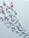 Animaux / Romance / Mode / Floral / Forme / 3D Stickers muraux Stickers muraux 3D,pvc 15*15cm