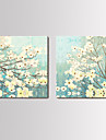 Reproduction transferee sur toile Art Floral Set prospere de 2