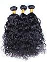 cheveux Slove vague eau humide et vague 7a cheveux vierge 3 faisceaux / lot, non transformes paquets bon marche de cheveux humains