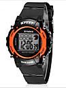 SYNOKE Copii Ceas Sport Ceas de Mână Piloane de Menținut Carnea LCD Calendar Cronograf Rezistent la Apă alarmă Luminos Cauciuc Bandă Negru