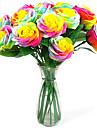 romantisk nyhet tvål ros blomma gåva för älskare tvätt