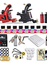 Beginner tattoo starter kits 2 machines 10 SetImmortal Tattoo Inks tattoo kit professional