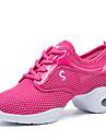 Chaussures de danse(Noir Rose Blanc) -Non Personnalisables-Talon Bottier-Tissu-Modernes