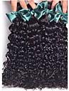 Tissages de cheveux humains Cheveux Bresiliens Tres Frise 18 Mois 4 Pieces tissages de cheveux
