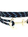 Bracelet Bracelets Wrap Tissu / Nylon Forme de Croix / Ancre Amitie / Style Punk / Hip-Hop / Multi-voies PorterQuotidien / Decontracte /