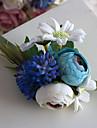 Flori de Nuntă Formă liberă Trandafiri Corsaj de mână Nuntă Petrecere / Seară Poliester Satin