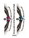 1pcs 3d ailes magiques autocollant de tatouage temporaire