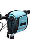ROSWHEEL® cykel~~POS=TRUNC 1.8LVäska till cykelstyret Vattentät dragkedja / Fuktighetsskyddad / Stötsäker / Bärbar CykelväskaPU Läder /