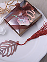 Crom Favoruri practice-1 Semne de Carte & Cuțite pentru Scrisori Temă Grădină / Temă Florală / Tema rustic Auriu 8*5CM