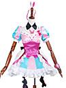 Inspirerad av Macross Frontier Annat anime Cosplay dräkter cosplay Suits LappverkKlänning / Huvudbonad / Krage / Knyta / Halsband / Ärmar