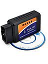 Bluetooth Bluetooth OBD2 V2.1 ELM327 Vehicle Detector, Vehicle Fuel Consumption Meter