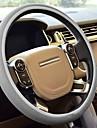 1pcs universel couvercle de direction de roue 100% polyester eponge de voiture respirant couvre pour roue steerig voiture-style