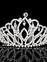 Femei Ștras Diadema-Nuntă Ocazie specială Tiare 1 Bucată