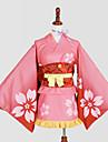 Inspire par Kabaneri de la forteresse de fer Nameless Actress Manga Costumes de Cosplay Costumes Cosplay Kimono ImprimeCache-col Yukata