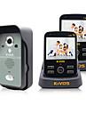 kivos intercom visuel sans fil sonnette menage anti-vol sonnette surveillance a distance de verrouillage de l\'appareil photo kdb300