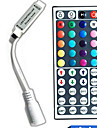 44 touches de couleur telecommande dc5-24v led string rgb