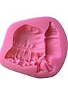 1 kaka Utsmyckning / 3D Tårta Plast Bakningsformar