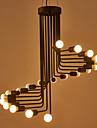 5 Ljuskronor ,  Modern Målning Särdrag for designers Metall Living Room / Sovrum