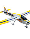 Dynam Smart Trainer 1:8 Borstlös elektrisk 50KM/H Radiostyrd quadcopter 5ch 2.4G EPO Yellow Viss montering behövs